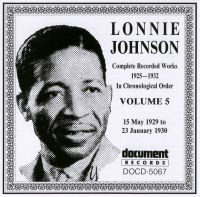 Lonnie Johnson Vol 5 1929 - 1930