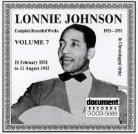 Lonnie Johnson Vol 7 1931 - 1932