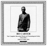 Bo Carter Vol 1 1928 - 1931