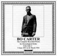 Bo Carter Vol 2 5th June 1931 to 26th March 1934