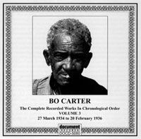 Bo Carter Vol 3: 27 March 1934 to 20 February 1936