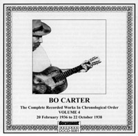 Bo Carter Vol 4: 20 February 1936 to 22 October 1938