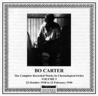 Bo Carter Vol 5: 22 October 1938 to 12 February 1940