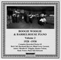 Boogie Woogie & Barrelhouse Piano Vol 2 1928 - 1930