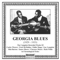 Georgia Blues 1928 - 1933