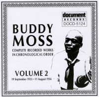 Buddy Moss Vol 2 1933 - 1934