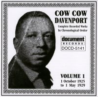 Cow Cow Davenport Vol 1 1925 - 1929