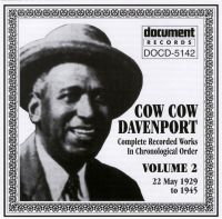 Cow Cow Davenport Vol 2 1929 - 1945