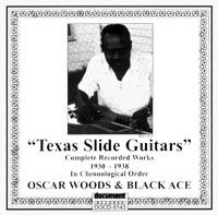 Oscar Woods & Black Ace (1930 - 1937)