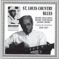 St Louis Country Blues 1929 - 1937