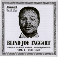 Blind Joe Taggart Vol 1 1926 - 1928