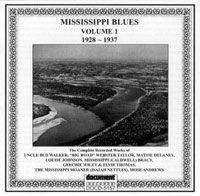 Mississippi Blues Vol 1 1928 - 1937