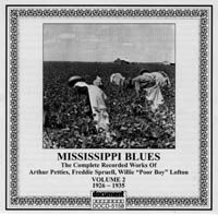 Mississippi Blues Vol 2 1926 - 1935