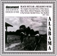Alabama Black Secular & Religious Music 1927 - 1934