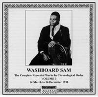 Washboard Sam Vol 3 1938