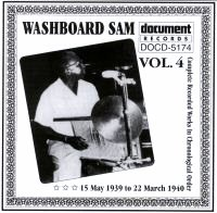 Washboard Sam Vol 4 1939 - 1940