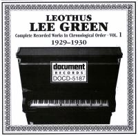 Lee Green Vol 1 1929 - 1930