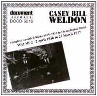 Casey Bill Weldon Vol 2 1936 - 1937