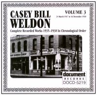 Casey Bill Weldon Vol 3 1937 - 1938