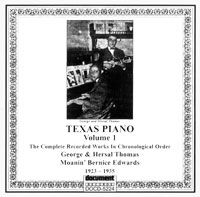 Texas Piano Vol 1 1923 - 1935