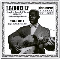 Leadbelly Vol 1 1939 - 1940