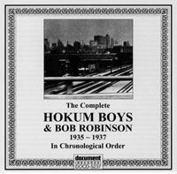 The Hokum Boys & Bob Robinson 1935 - 1937