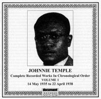 Johnnie Temple Vol 1 1935 - 1938