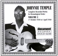 Johnnie Temple Vol 2 1938 - 1940