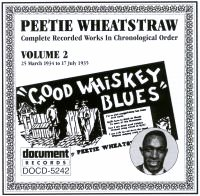 Peetie Wheatstraw Vol 2 1934 - 1935
