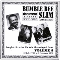Bumble Bee Slim Vol 5 1935 - 1936