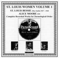 St Louis Bessie & Alice Moore Vol 1 1927 - 1929