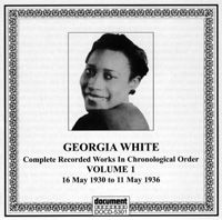 Georgia White Vol 1 1930 -1936