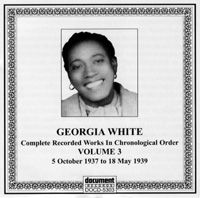 Georgia White Vol 3 1937 -1939
