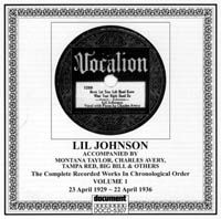 Lil Johnson Vol 1 1929 - 1936