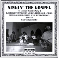Singing The Gospel 1933 - 1936