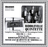 Biddleville Quintette Vol 2 1929