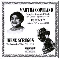 Martha Copeland Vol 2 Irene Scruggs 1927 - 1928