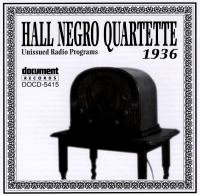 Hall Negro Quartette 1936