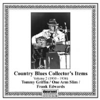 Country Blues Collector's Items Vol 2 1930 - 1941