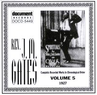 Rev J M Gates Vol 5 1927
