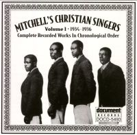 Mitchell's Christian Singers Vol 1 1934 - 1936