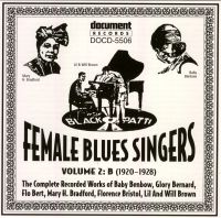 Female Blues Singers Vol 2 B 1920 - 1928
