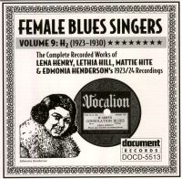 Female Blues Singers Vol 9 H2 1923 - 1930