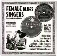 Female Blues Singers Vol 10 H/I/J 1923 - 1929