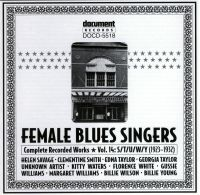 Female Blues Singers Vol 14 S/T/U/W/Y 1929 - 1932