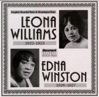 Leona Williams 1922 - 1923