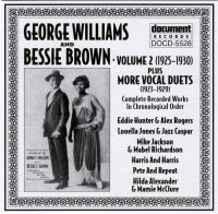 George Williams & Bessie Brown Vol 2 1925 - 1930