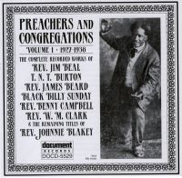 Preachers and Congregations Vol 1 1927 - 1938