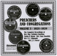 Preachers & Congregations Vol 3 1925 - 1929