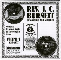 Rev J C Burnett Vol 1 1926 - 1927